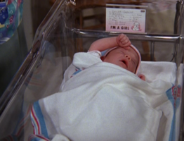 Emma as a Newborn