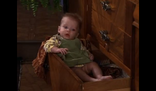 Leslie Buffay in a drawer