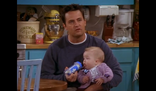 Chandler with baby