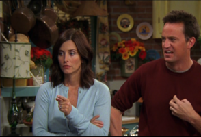 Monica and Chandler are Mad!