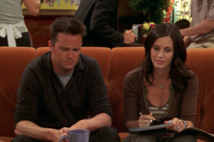 Chandler and Monica (10x02)