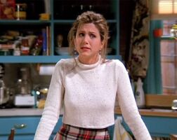 Rachel Green hair up