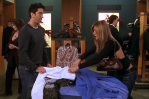 Rachel & Ross Shopping (10x09)