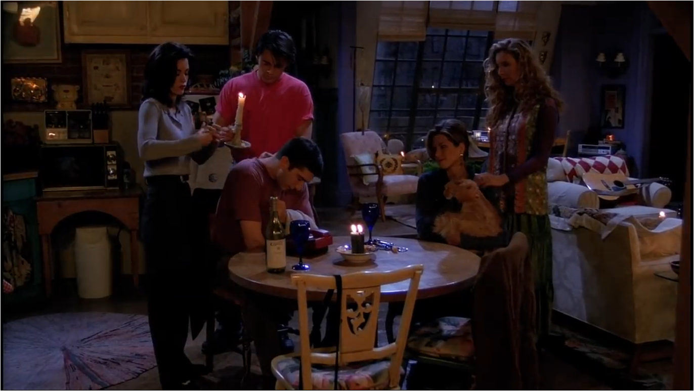 The One With The Blackout | Friends Central | FANDOM powered