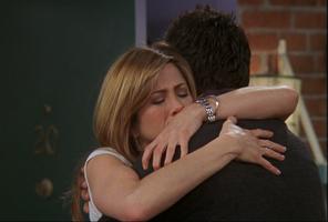 Rachel & Ross Hug (10x18)