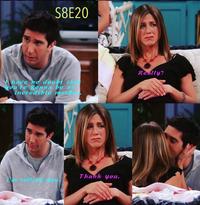 Ross and Rachel (8x20)