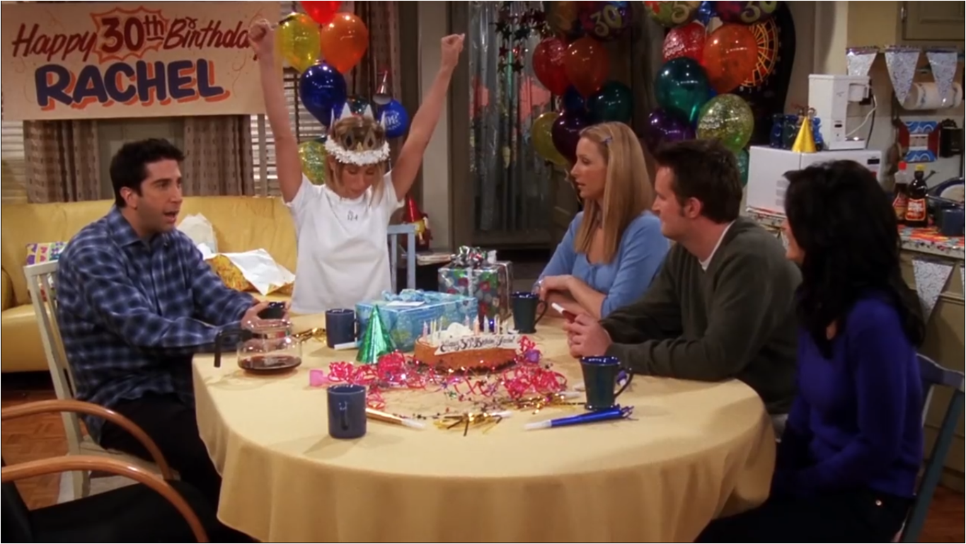 Rachel Celebrates Her 30th Birthday