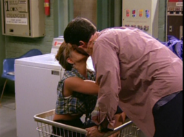 Ross and Rachel's First Kiss
