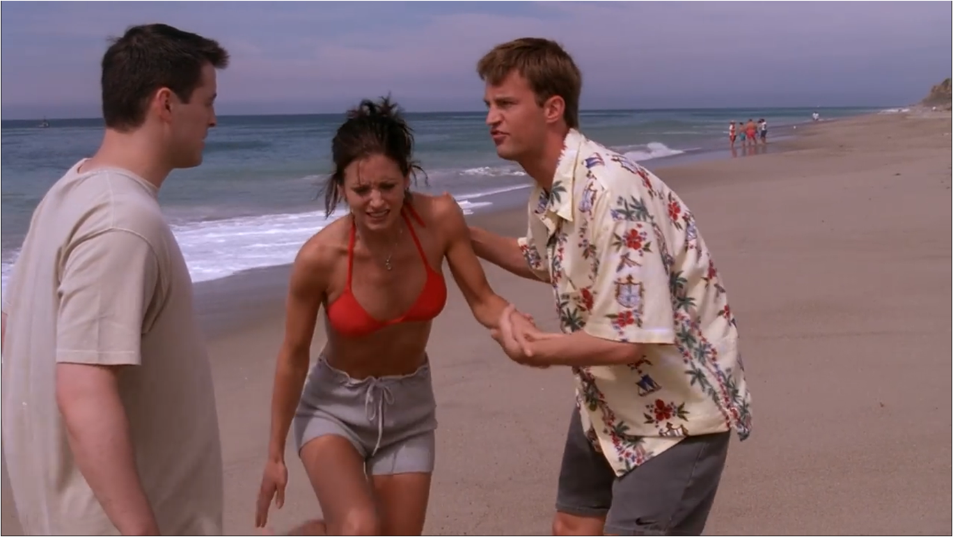 Andrea Anders Bikini the one with the jellyfish | friends central | fandom