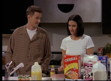 Chandler & Monica (3x25)
