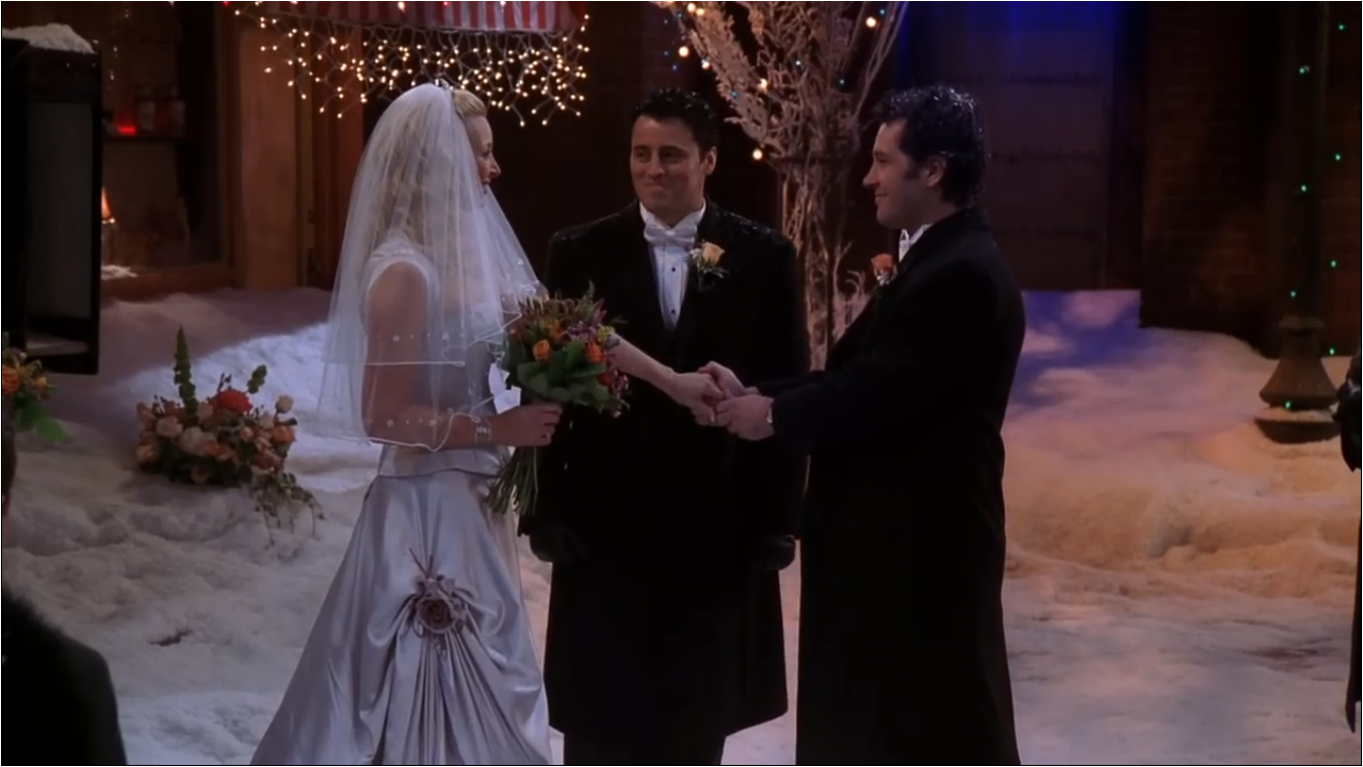 The One With Phoebes Wedding Friends Central Fandom Powered By