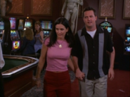 Monica and Chandler Holding Hands