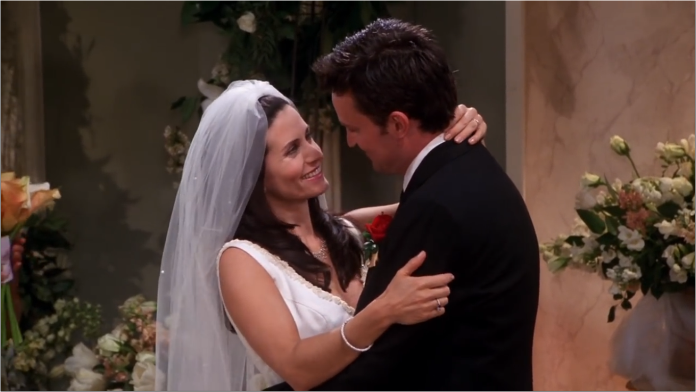 The One With Monica And Chandlers Wedding Part 2 Friends Central