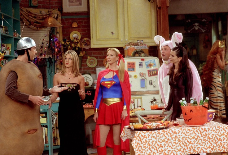 The One With The Halloween Party | Friends Central | FANDOM ...