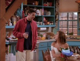 Rachel & Ross in the Apartment (1x01)