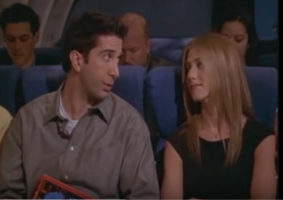 Rachel & Ross on the Plane - TOWVegas
