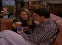 Bonnie and Ross at Central Perk