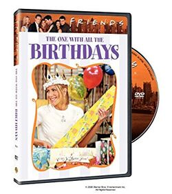 Friends - The One with All the Birthday DVD