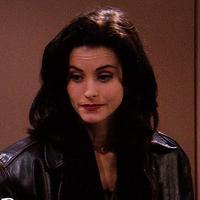 Monica leather jacket