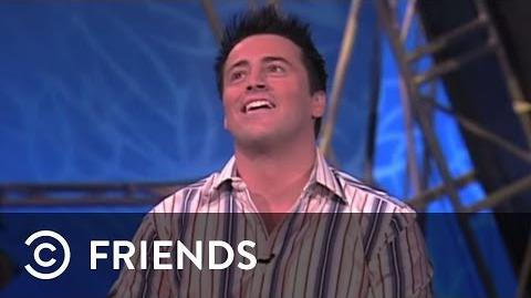 "Joey on the ""Pyramid"" Game Show Friends"
