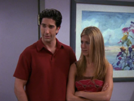 Ross and Rachel are Confused