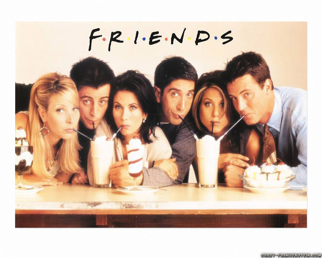 Friends Tv Show Wallpapers 1280x1024