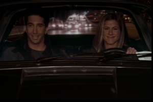 Rachel and Ross in the Car (10x04)