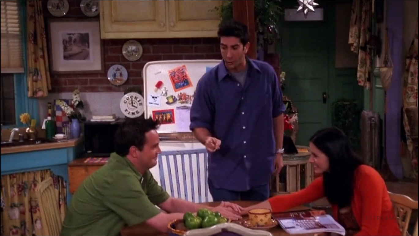 124th overall episode of Friends The One
