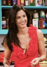 Monica red dress 2