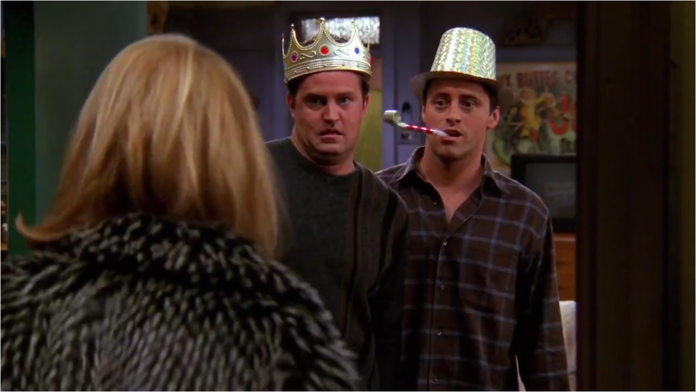 The One With The Stripper | Friends Central | FANDOM powered by Wikia