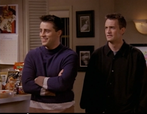 Joey and Chandler (3x17)