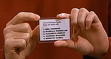 Ross' List