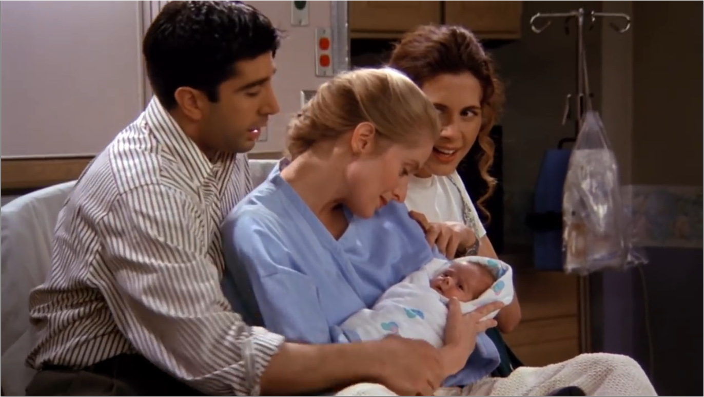 The One With The Birth | Friends Central | Fandom