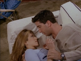 Rachel and Ross on the Couch (3x25)