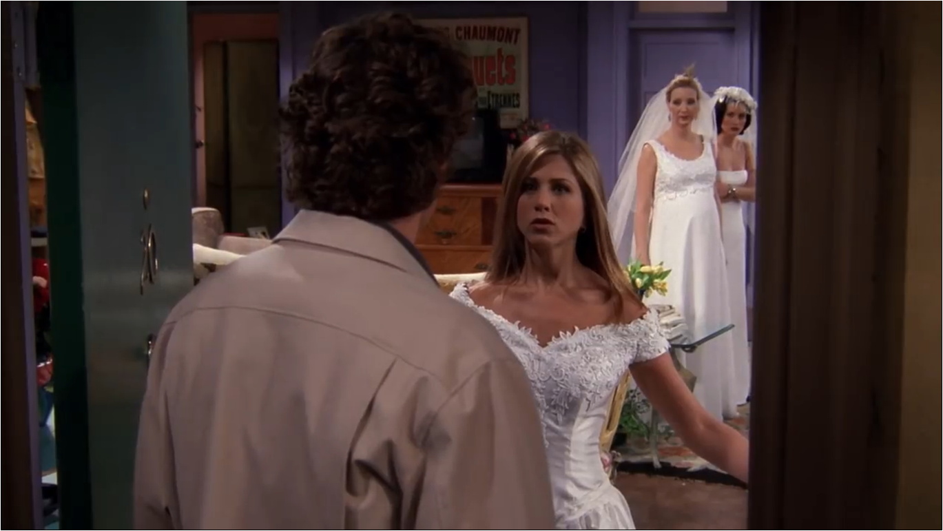 The One With All The Wedding Dresses | Friends Central | FANDOM ...