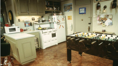 Chandler And Joey S Apartment Friends