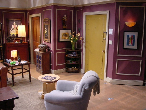 The Building Has No Elevator Even For Freight Which Caused Problems When Ross Rachel And Chandler Tried To Move A Sofa Up Stairwell His Apartment