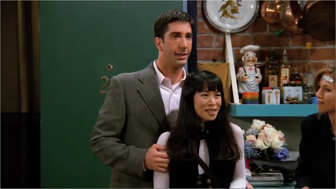 the one with ross' new girlfriend | friends central | fandom powered