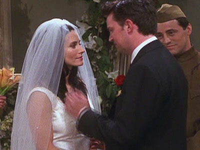 Does Start Chandler Dating And Monica When Today's