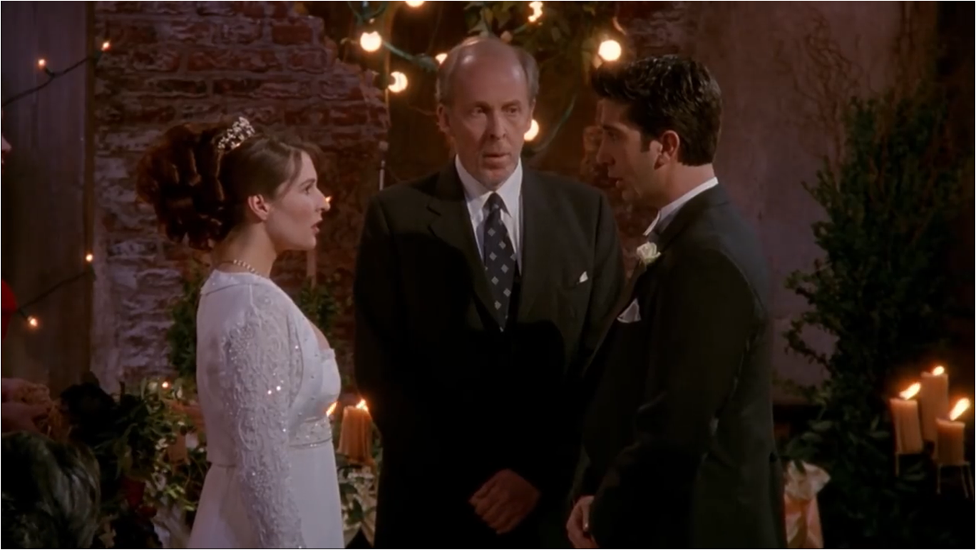 The One With Ross Wedding Part 2 Friends Central Fandom