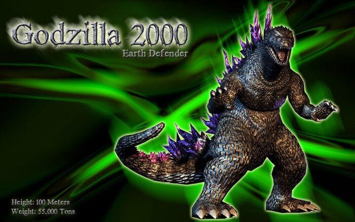 Godzilla 2000 (2)