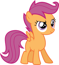 Determined Scootaloo by uxyd