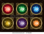 Stock-vector-gems-set-a-collection-of-six-gems-in-different-colors-37799266
