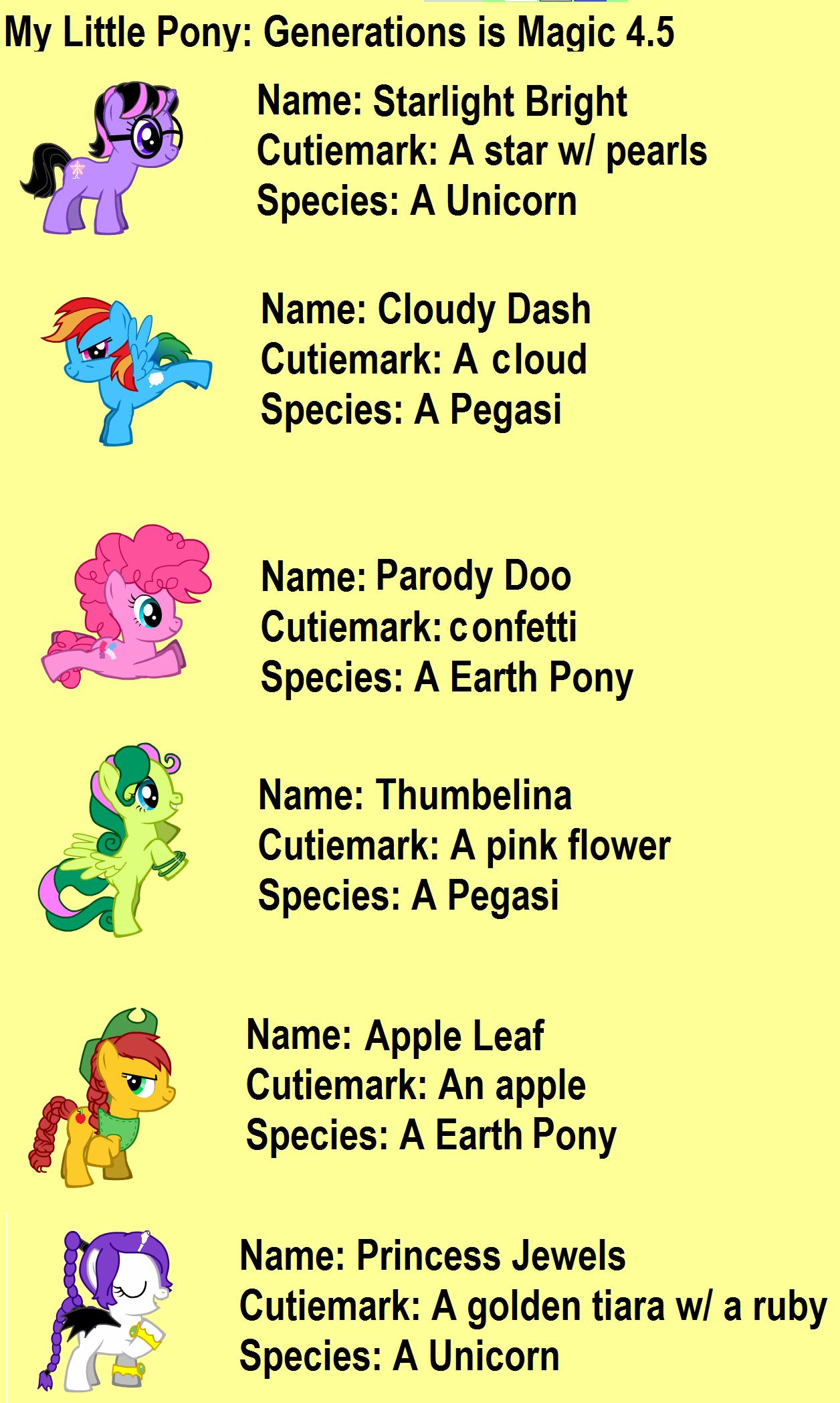My Little Pony Phonics Fun - m