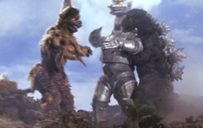 King Ceasar and Godzilla vs. Mechagodzilla
