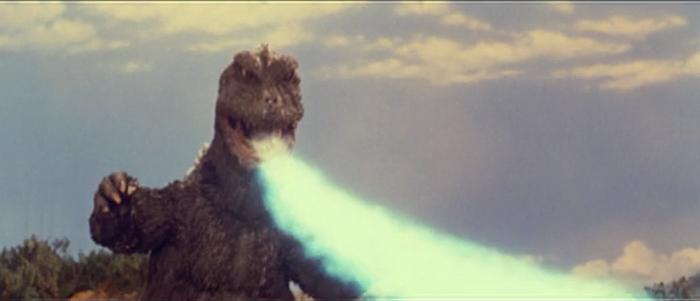 Godzilla in All Monsters Attack