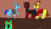 Crows and Canterlot Templars