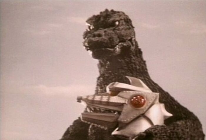 Godzilla in Terror of Mechagodzilla