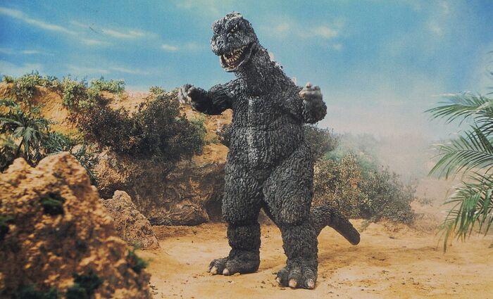 Godzilla in Godzilla vs. Gigan