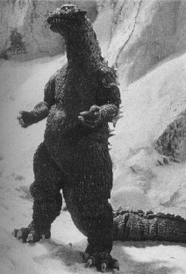Godzilla in Godzilla Raids Again